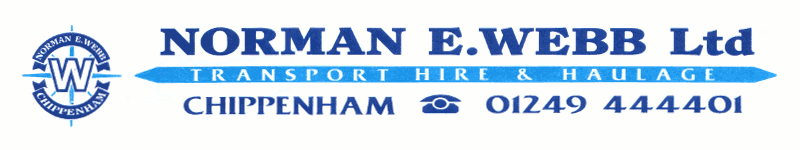 Norman E Webb Ltd logo - Go to Home page